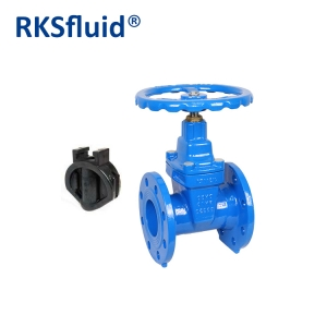 Anti corrosive epoxy coating resilient seat gate valve factory price