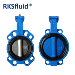 Brake pneumatic new type resilient seat soft seal butterfly valves supplier
