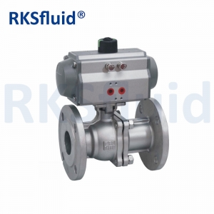 Class150 class300 Stainless Steel 2PC Floating Ball Valve with DIN ANSI Standard