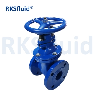 DIN Rising Stem Non Rising Stem Cast Ductile Iron Brass Bronze Metal Seat Gate Valve