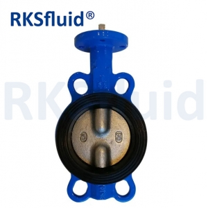 Double stem butterfly valve double Axes butterfly valve half stem butterfly valve