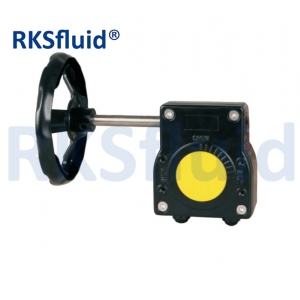 Gearbox valve actuator gearbox butterfly valve gearbox