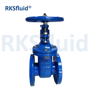 Hand Operated Compression Metal Gate Valve Brass Seat Metal Seal Gate Valve