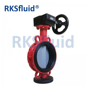 High Quality Dn250 Dn300 Wafer Type Butterfly Valve