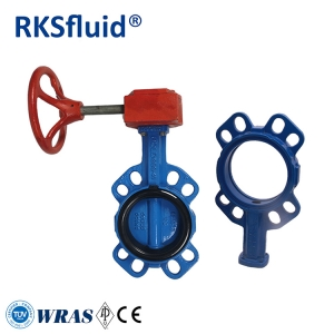 Hot sale water control adjusting gearbox handle butterfly valves valvula