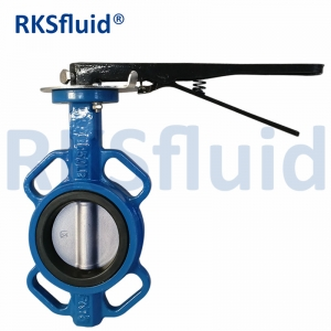Lug/Wafer/Double Wafer End Type Industrial Soft Seat Signal Resilient D71 Butterfly Valve/Check Valve