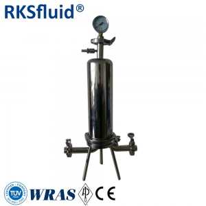 Multi cartridge style filter Stainless steel SS316L filtration system