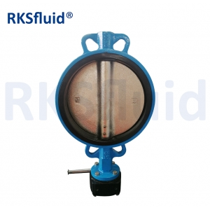 OEM Valve Bare Shaft Lug Butterfly Valve with Tapper Pin Well Valve
