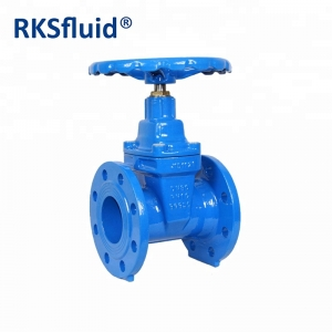 PN10 16 25 flanged BS5163 DN 50 80 100 200 300 400 500 600 cast ductile iron reselient seated gate valve