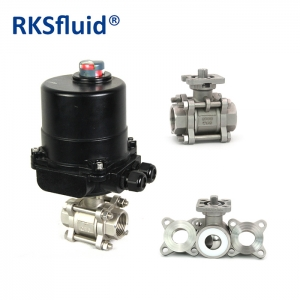 Quality stable ISO DN 25 control standard ball valve 3pc floating ball valve
