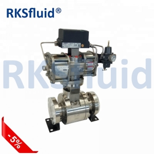 RKS high temperature hard seal floating ball valve