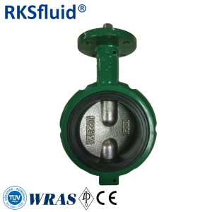 Short neck butterfly valve 4 inches butterfly valve  similar style