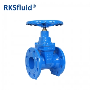 Spraying Temperature Over 200 Resilient seat gate valve manual actuator