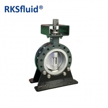 China 100% Quality Test Pneumatic Butterfly Valve U Type section Butterfly Valve factory