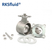 China 2 inch stainless steel motorized electric actuator thread 3pc floating BV ball valve factory