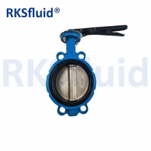 China 4 Inch Butterfly Valve Dn100 Flange Butterfly Valve With Worm Gear Actuator factory