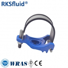 China 95% Special Offer Ductile Cast iron type grooved coupling rubber tapping saddles factory