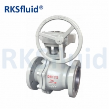 China API 2PC / 2PC Body Trunnion Ball Valve with Flange factory