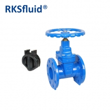 China Anti corrosive epoxy coating resilient seat gate valve factory price factory