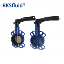 China Appropriate price manual gear drive butterfly valve food grade factory