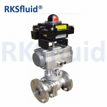 China Ball Valves, Flanged Ends, Carbon/Stainless Steel, 2-piece body, 150/300/600lbs factory
