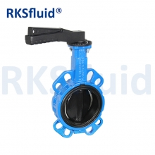 China Butterfly valve manufacturers butterfly valve with nylon coated disc valve supply factory