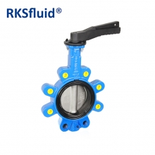 China Butterfly valve size chart lug type butterfly valve factory