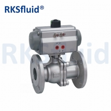 China Class150 class300 Stainless Steel 2PC Floating Ball Valve with DIN ANSI Standard factory