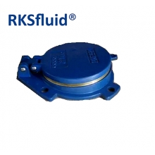 China DI/ CI Flap valves flap cover ductile iron made flap valve factory