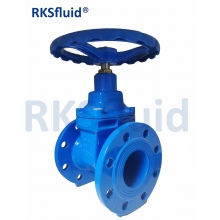 China PN10 PN16 Soft Seat Gate Valve F4 Resilient-seated Gate Valve factory
