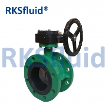 China DN50-DN2000 PN10/PN16/ANSI 150LB/JIS10K double flange butterfly valve factory