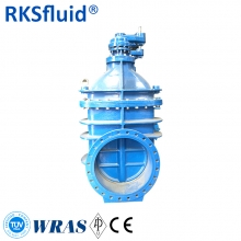 DN50-DN2000 double flange metal seal no-rising gate valve