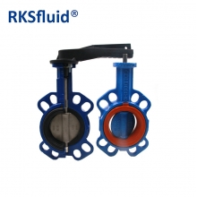 China Dn100 Factory Price List Cast Iron Butterfly Valve Industrial application factory