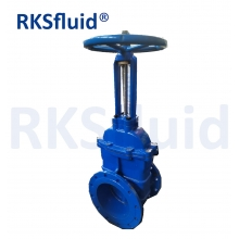 China Ductile Iron Brass Metal-Seal Flanged End Rising Stem Gate Valve factory