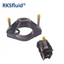 Epoxy Powder Coating Of 150-200 μ Ductile Iron Pipe Saddle Clamp Grooved Coupling