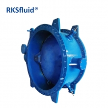 Flange Double-Eccentric Ductile Iron Resilient-Seated Butterfly Valve