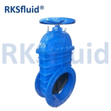 China GGG50 DIN 3352 F4 ductile iron gate valve with prices soft seal cast iron sluice gate valve factory