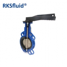 HYDRA Series Wafer lug DN80 3IN Handwheel butterfly valve CI DI BODY SS DISC STEM EPDM