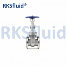 ANSI API600 Class150-2500 Industriel en acier inoxydable Rising Stem Wedge SS Gate Valve Fabricant