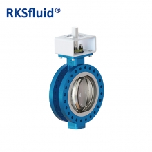 China High quality BS EN593 multi hard seal flange connection three eccentric butterfly valve factory