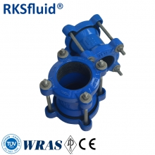 ISO2531/EN545 ductile cast iron di gibault joint for PVC pipe/ steel pipe/ AC pipe