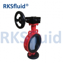 China ISO5211 honeywell butterfly valve 304 Stainless steel centerline butterfly valve factory
