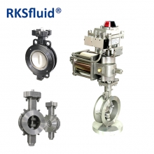 China High Performance Stainless Steel Butterfly Valve Price factory