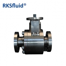 China Oil gas industry metal sealing floating ball valve factory