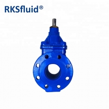 China GGG50 BS5163 DIN3352 F4 ductile iron gate valve with prices resilient seat cast iron sluice gate valve factory