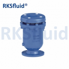 China RKSfluid GJS500-7 Air release valve in ductile iron flange factory