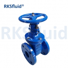 China Rising Stem GOST Metal Wedge Handle Wheel Gate Valve Metal Seat For Water Supply factory