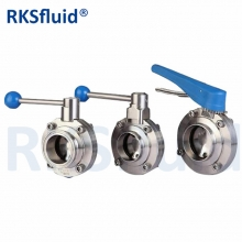 SS304 Sanitary Stainless Steel Pneumatic Actuator For Valve Sanitary