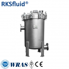 China SS316 stainless steel water treatment pocket filter system factory