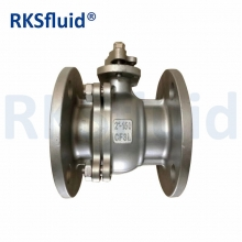 China Stainless Steel 2PC Design Full Bore Ball Valve factory
